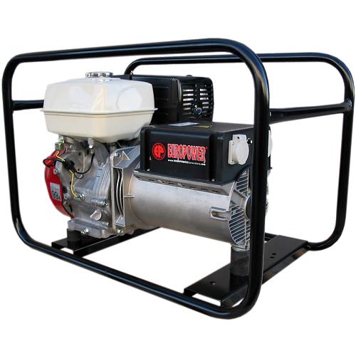 Генератор бензиновый Europower EP 6500 T 3X230V для ж/д в Белая Холуницае