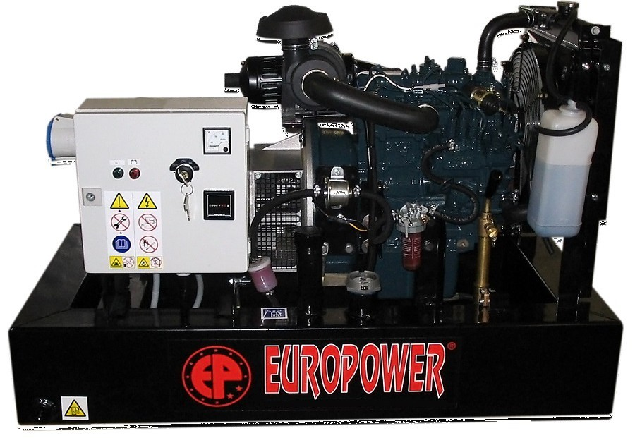 Генератор дизельный Europower EP 30 DE в Белая Холуницае