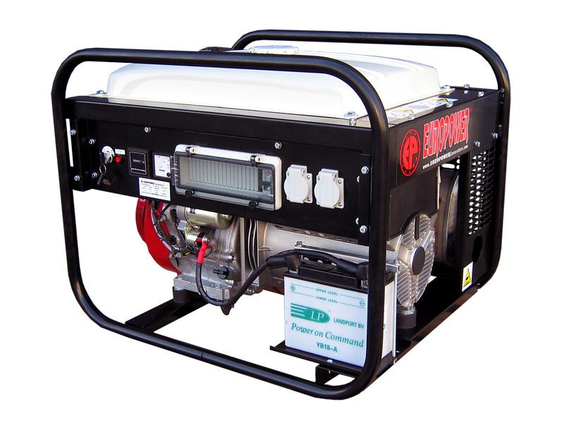 Генератор бензиновый Europower EP 7000 LE в Белая Холуницае