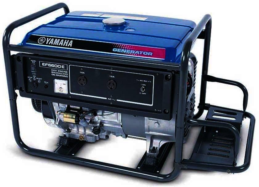 Генератор Yamaha  EF6600E в Белая Холуницае