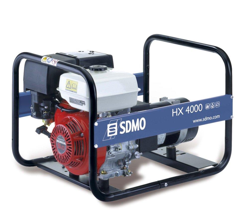 Генератор SDMO HX 4000-S в Белая Холуницае