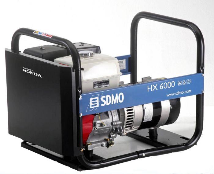 Генератор SDMO HX 6000-S в Белая Холуницае