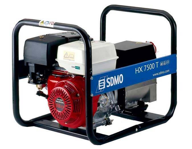 Генератор SDMO HX 7500 T-S в Белая Холуницае